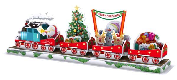 MYPZ03 - 3D-PUZZLE-CHRISTMAS-TRAIN