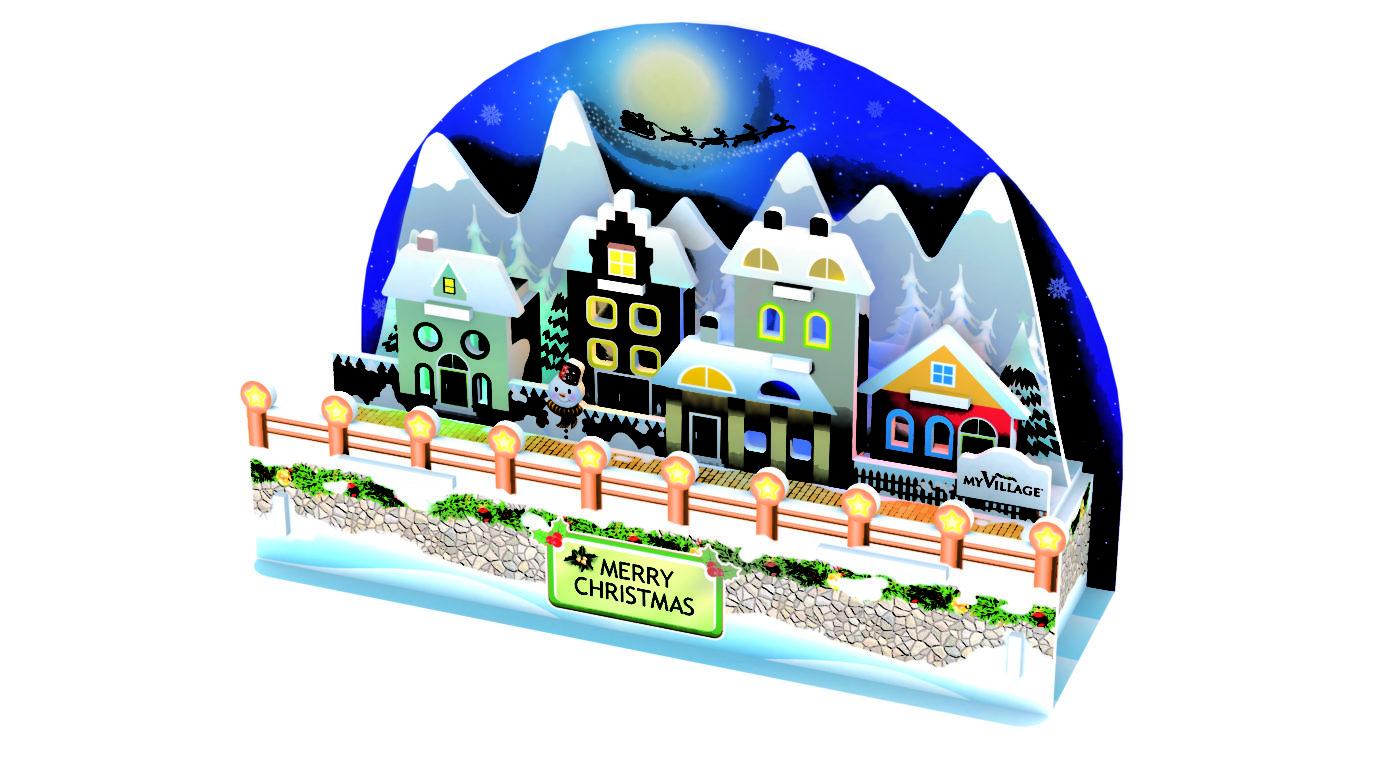 MYPZ04 - 3D-PUZZLE-CHRISTMAS-CARD