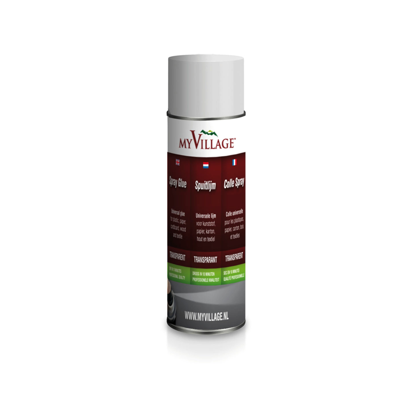 MYV06 - SPRAY-GLUE-TRANSPARENT